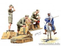 Master Box 1:35 Afrika Korps German Tankmen WWII
