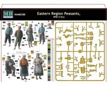 Master Box 1:35 Eastern Region Peasants