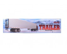 Moebius Models 1:25 53-Foot  Trailer With Reefer Option