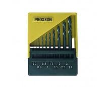Proxxon Borenset HSS 0,3 t/m 3,2mm (10 stuks)