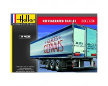 "Heller 1:24 Refigerated Trailer ""Glaces Gervais"""