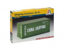 Italeri 1:24 Shipping Container 20Ft.