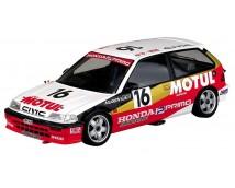 Aoshima BEEMAX 1:24 Honda Civic EF3 (Gr.A) MOTUL 1988