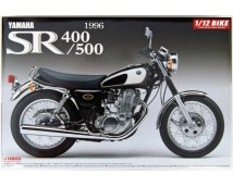 Aoshima 1:12 Yamaha SR400/500 Model Kit