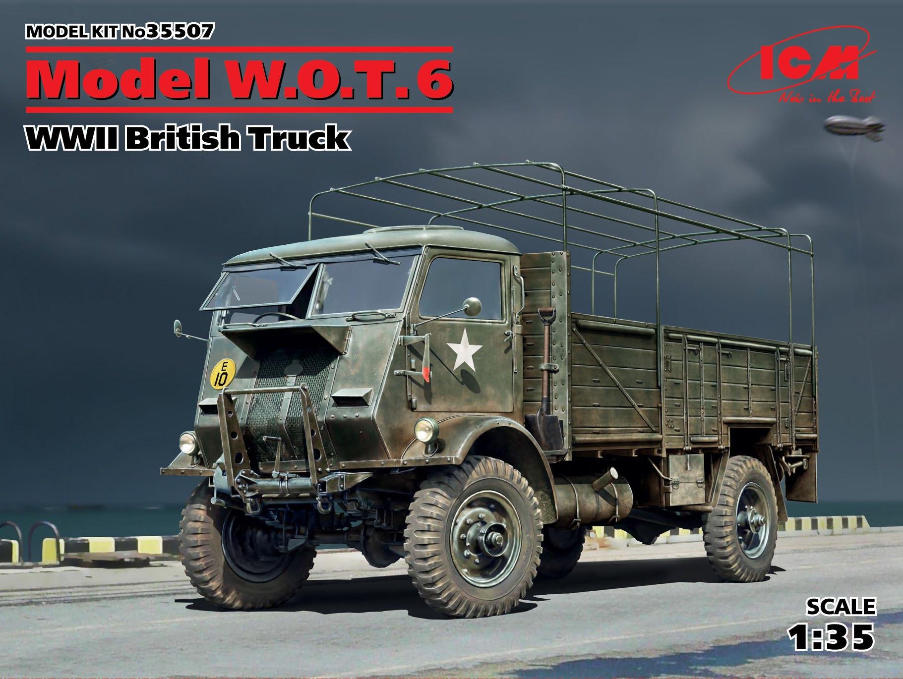 ICM 1:35 W.O.T. 6  WWII British Truck