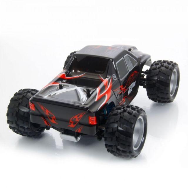 WL-Toys Vortex 1:18 Monter Truck 4WD RTR Rood